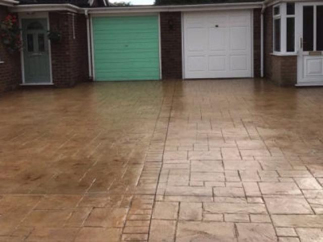 New Concrete Driveway Brooklands