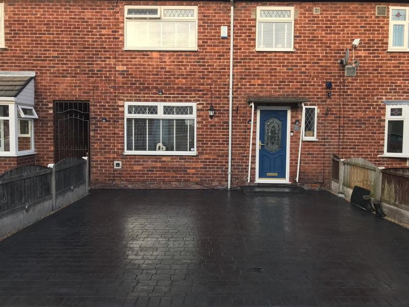 New driveway Wythenshawe, Manchester
