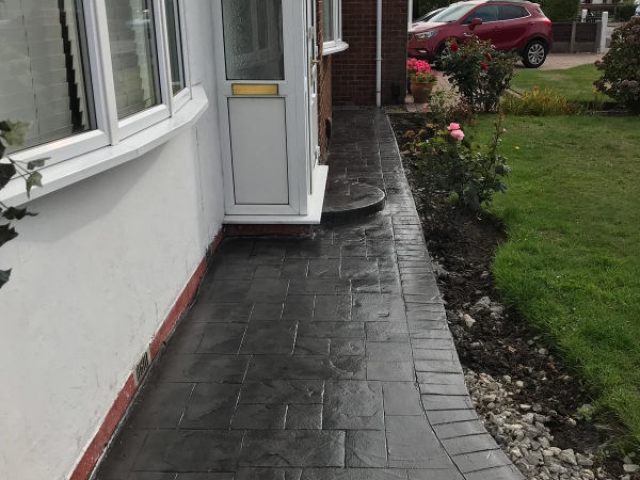 New driveway and patio in Sale, Manchester