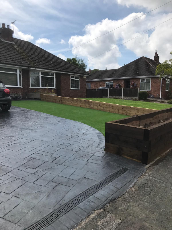 Artificial Grass in Lymm by Lasting Impressions Driveways