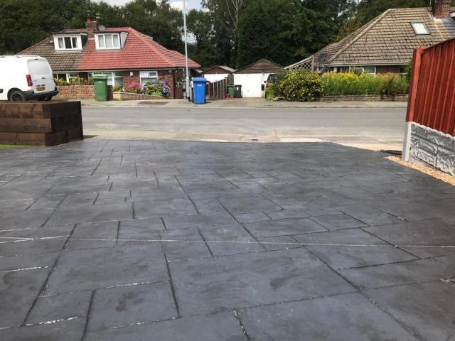 New driveway in Lymm by Lasting Impressions Driveways