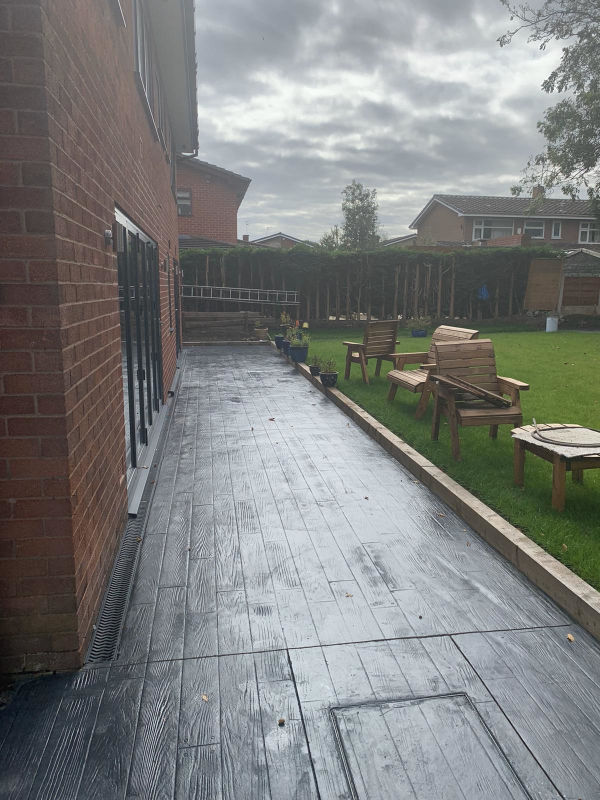 New Patio in Heald Green, Stockport by Lasting Impressions Driveways