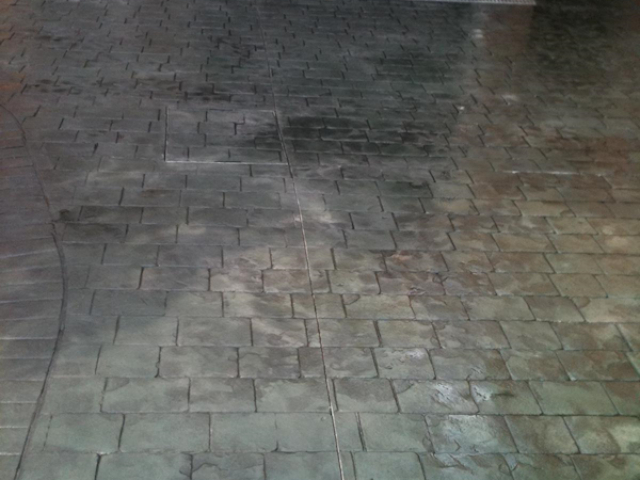 New Concrete Driveway in Wythenshawe