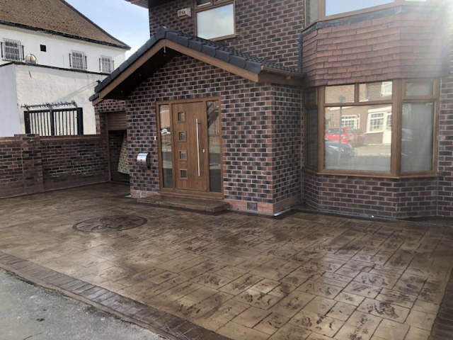 New driveway Heald Green
