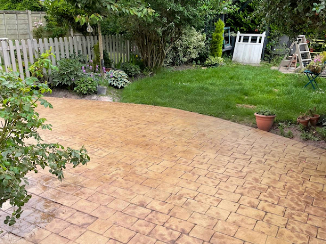 New driveway and Patio in Timperley