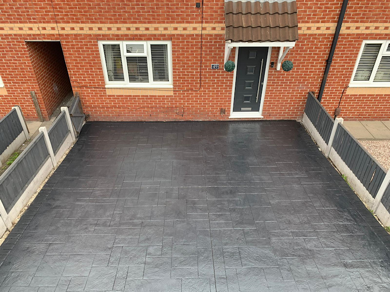 New driveway Timperly Altrincham